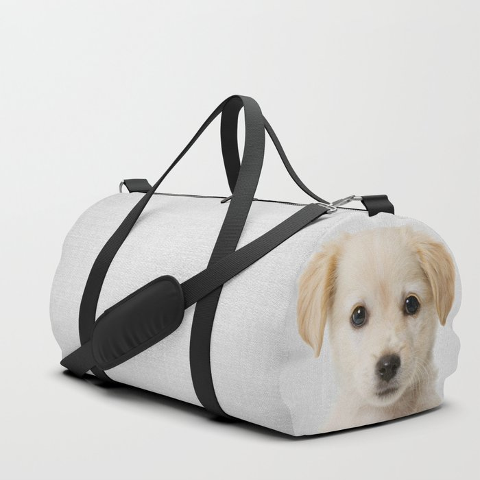 Golden Retriever Puppy - Colorful Duffle Bag