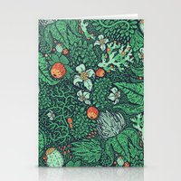plants Stationery Cards featuring plants by Jordan Walsh