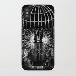 Nikola Tesla's Laboratory iPhone Case