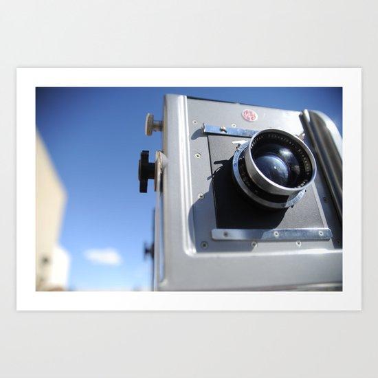 4X5 Rail Camera Art Print
