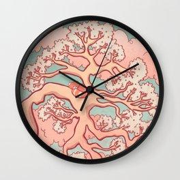 Sweet Dreams, Red Panda Wall Clock