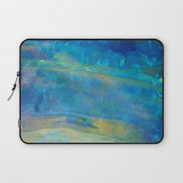 Sunrise Fire Opal Abstract Laptop Sleeve