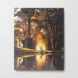 Scrubland Metal Print