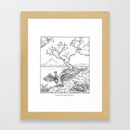 Canada Geese Framed Art Print