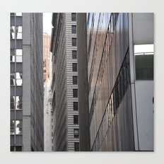 Narrow City Streets Canvas Print