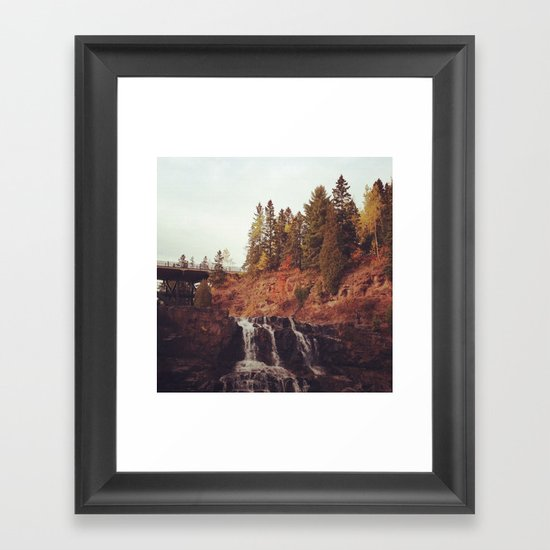 Gooseberry Falls Framed Art Print