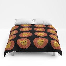 Lion Faces Comforters