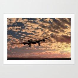 """Pro libertate"" (106 Squadron RAF) Art Print"