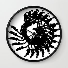 Ministry of Silly Walks Wall Clock