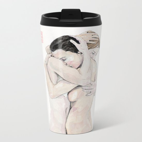 An Embrace Metal Travel Mug
