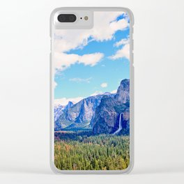 Yosemite Valley Clear iPhone Case