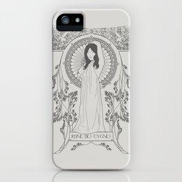 Reine des Cygnes (Grey) iPhone Case
