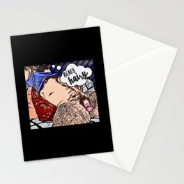 Beary Hairy Stationery Cards