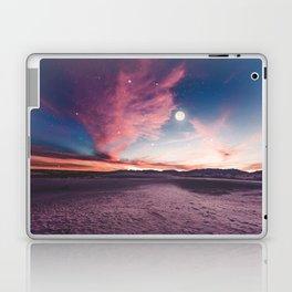 Moon gazing Laptop & iPad Skin