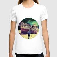 ship T-shirts featuring Ship by Cs025