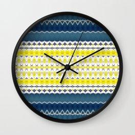 Plumeria 1 Wall Clock