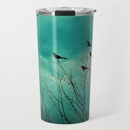 Like Birds on Trees Travel Mug