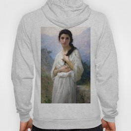 "William-Adolphe Bouguereau ""Meditation"" Hoody"