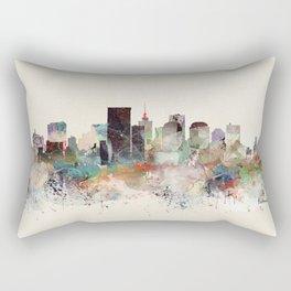 richmond virginia skyline Rectangular Pillow