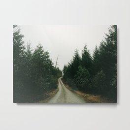 China Ditch Road  Metal Print