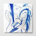 Plant in Blue Marker - Leaf of Life Miracle Leaf - Original Blue by anoellejay