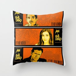 The good, the sexy, the asshole Throw Pillow