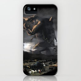 El Kaiju iPhone Case