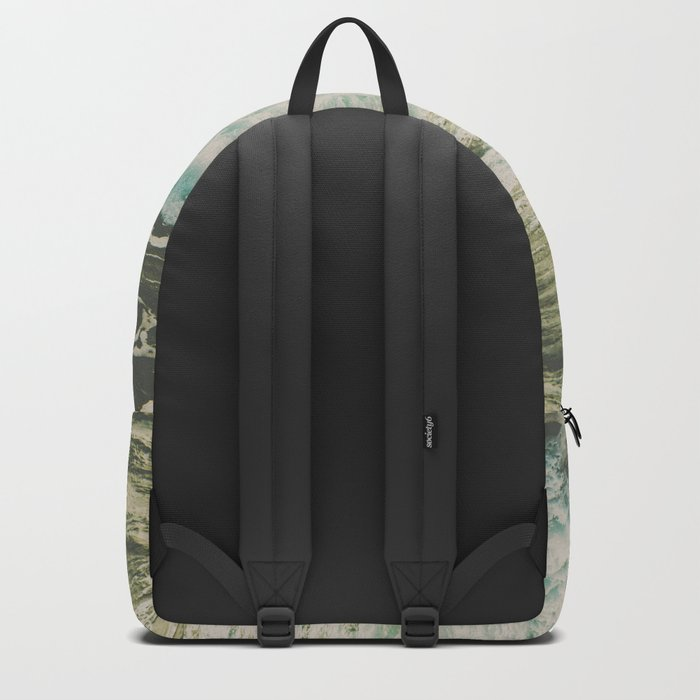 Marble Ocean Crush Backpack
