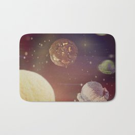Planets of the iceshapes Bath Mat