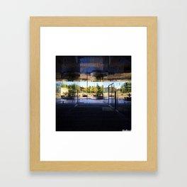 New Area in Morning Light Framed Art Print