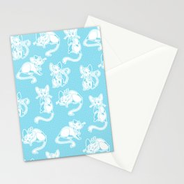 Mouse alarm Stationery Cards