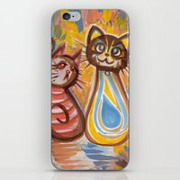 peanuts iPhone & iPod Skins featuring Purrsian Peanuts by Hollibel