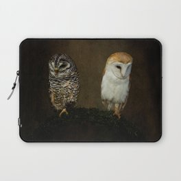 Barn And Tawny Owl Laptop Sleeve