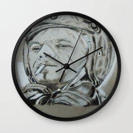 Steve Mcqueen  Wall Clock