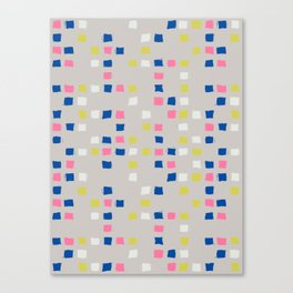 Tic Tac Tile - Texture Series 1 Canvas Print