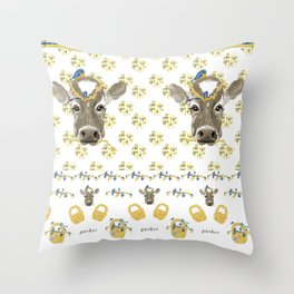 Gather Around the Farmhouse Throw Pillow