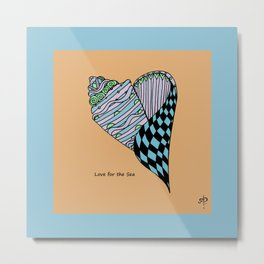 Love for the Sea Metal Print