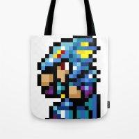 final fantasy Tote Bags featuring Final Fantasy II - Kain by Nerd Stuff