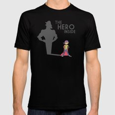The Hero Inside Mens Fitted Tee Black X-LARGE
