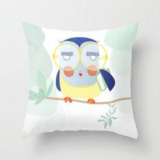 Wise as an OWL Throw Pillow