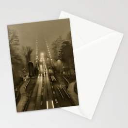 Lions Gate in the Fog 02 Stationery Cards