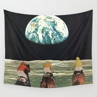 jesse pinkman Wall Tapestries featuring race for the prize by Jesse Treece