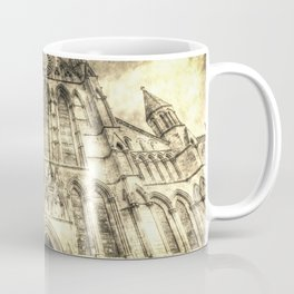 York Minster Cathedral Vintage Coffee Mug