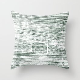 Dolphin Gray abstract watercolor Throw Pillow