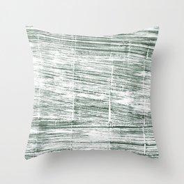 Dolphin Gray abstract watercolor Throw Pillow
