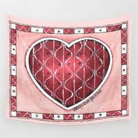 confetti Wall Tapestries featuring Confetti by Shelley Ylst Art