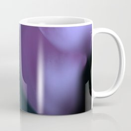 Fine Art Purple Abstract Photography, Flower Coffee Mug