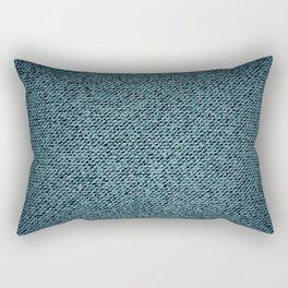 Denim texture Rectangular Pillow