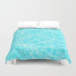 Robin Egg Blue Pattern Duvet Cover