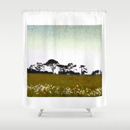 In the country. Shower Curtain